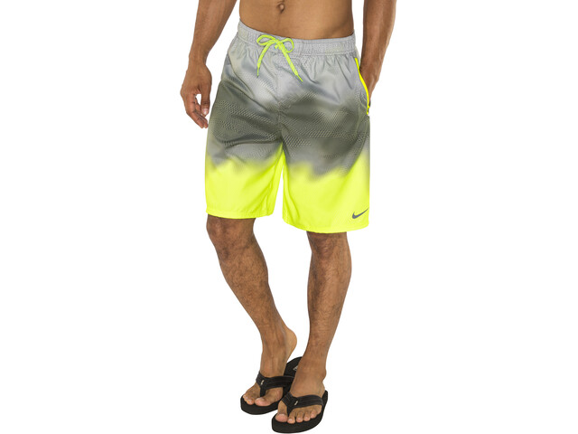 "Nike Swim Liquid Smoke Volley Shorts Men 9"" Volt"